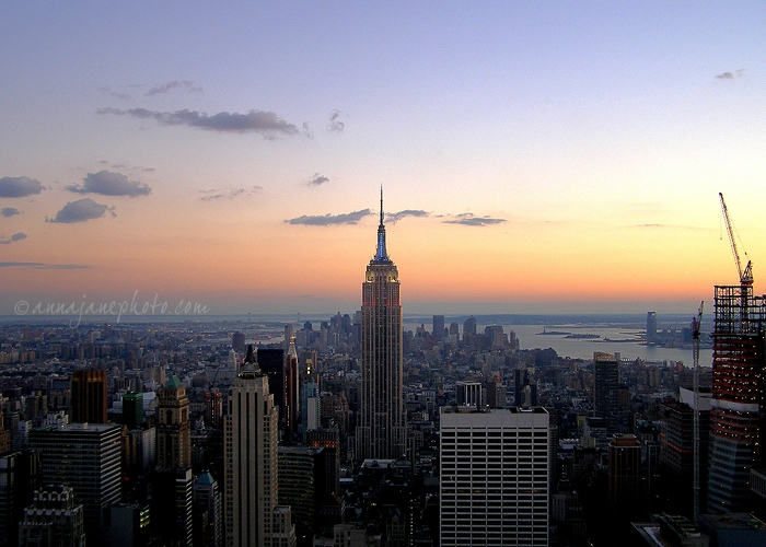 Manhattan Sunset - 20070901-manhattan-sunset.jpg - Anna Nielsson