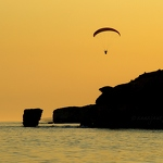 Sunset, Sea & Parachute - Anna Nielsson