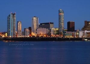 Liverpool Towers, Dusk