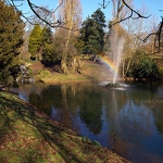Sefton Park Fountain & Rainbow