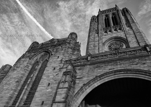 Liverpool Cathedral B&W