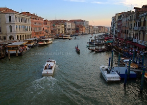 Grand Canal from Ponte Di Rialto