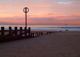 Aberdeen Beach at Sunset