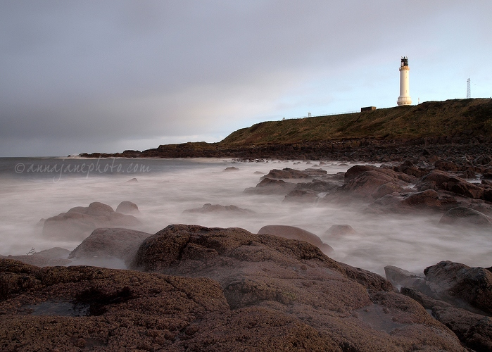 Girdle Ness Lighthouse - 20121209-girdle-ness-lighthouse.jpg - Anna Nielsson