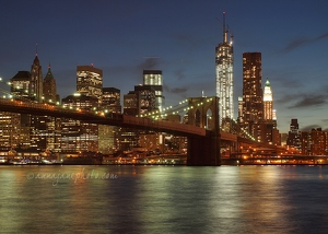 Brooklyn Bridge & Manhattan
