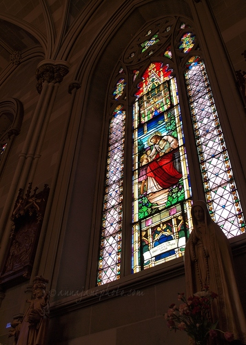 St Patrick's Old Cathedral - 20130517-st-patricks-old-cathedral-stained-glass.jpg - Anna Nielsson