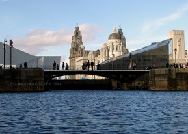 Pier Head from Albert Dock
