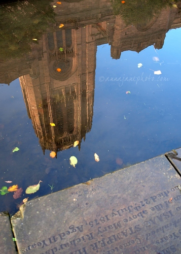 Cathedral Reflection - 20131017-liverpool-cathedral-reflection.jpg - Anna Nielsson