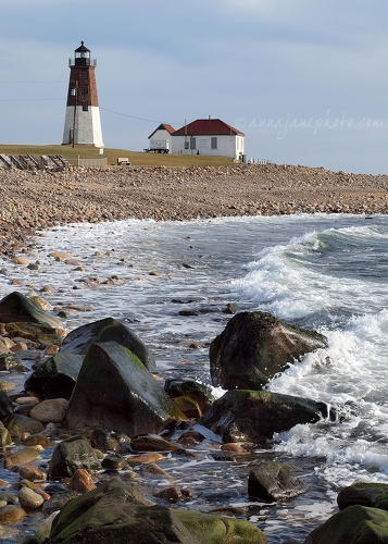 Point Judith - 20131228-point-judith-lighthouse.jpg - Anna Nielsson