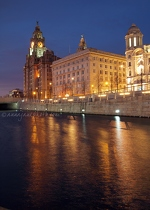 Liver Building, Cunard Building & Canal