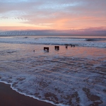 Aberdeen Beach Sunset - Anna Nielsson