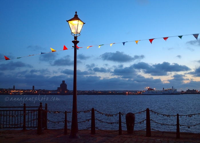 River Mersey Bunting and Love Locks - 20140621-river-mersey-bunting-love-locks.jpg - Anna Nielsson