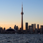 Toronto at Sunset - Anna Nielsson