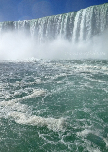 Horseshoe Falls from Hornblower - 20140923-horseshoe-falls-from-hornblower.jpg - Anna Nielsson