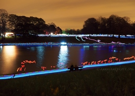 Sefton Park Lake & Light Trails