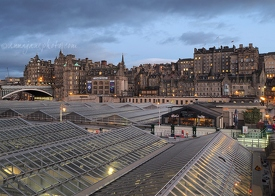 Edinburgh Old Town & Waverley Station