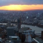Sunset Over London - Anna Nielsson