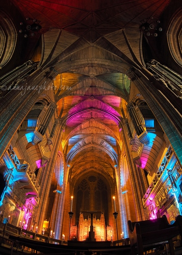 Liverpool Cathedral Lights - 20150515-liverpool-cathedral-lights.jpg - Anna Nielsson