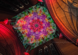 Cathedral Kaleidoscope Projections