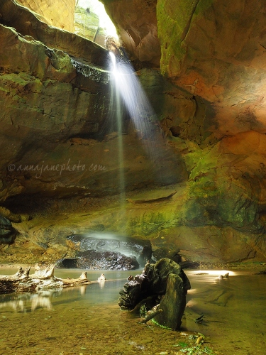 Conkle's Hollow Waterfall - 20150628-conkles-hollow-waterfall-2.jpg - Anna Nielsson