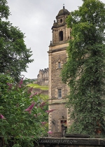 St Cuthbert's Church & Edinburgh Castle