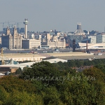 Liverpool from Bidston Hill Panorama