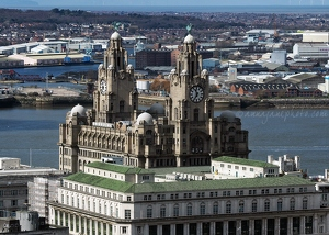 Liver Building from Radio City Tower