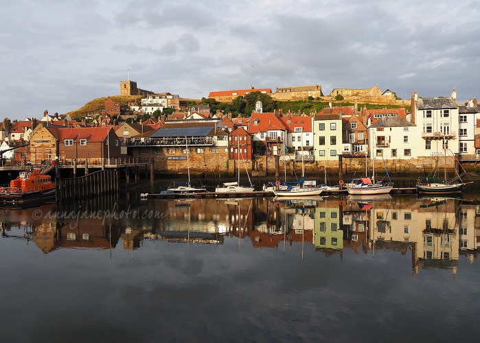 Whitby Harbour Reflections - 20180721-whitby-reflections.jpg - Anna Nielsson