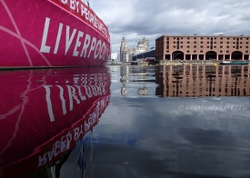 Liverpool Clipper in Albert Dock