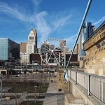 Cincinnati Skyline and Wheel