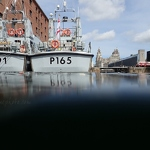 HMS Puncher and HMS Example, Albert Dock