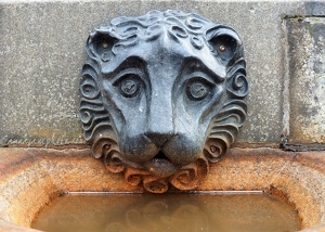 Lion Drinking Fountain
