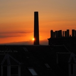 Sunset Chimneys
