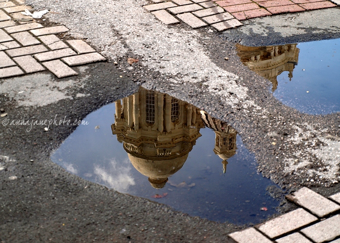 Wonders of the Deep - 20090822-port-of-liverpool-building-puddle.jpg - Anna Nielsson