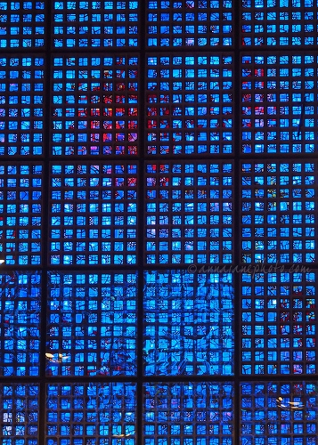 Kaiser Wilhelm Memorial Church Stained Glass - 20141104-kaiser-wilhelm-memorial-church-stained-glass-1.jpg - Anna Nielsson