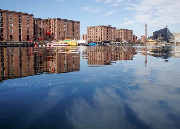 Salthouse Dock Reflections - 20170315-salthouse-dock-reflections-2.jpg - Anna Nielsson