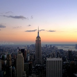Manhattan Sunset - Anna Nielsson