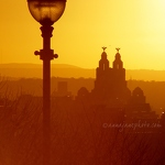 Liver Building & Lamp Sunset - Anna Nielsson