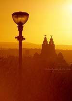Liver Building & Lamp Sunset