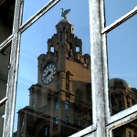 Liver Building Reflection - Anna Nielsson