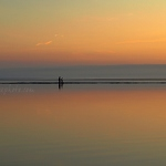 West Kirby Marine Lake Sunset - Anna Nielsson