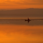 Kayak at Sunset - Anna Nielsson