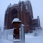 Liverpool Cathedral in Snow - Anna Nielsson
