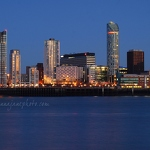 Liverpool Towers, Dusk - Anna Nielsson
