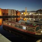 Salthouse Dock & Lennon Projection - Anna Nielsson