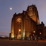 Anglican Cathedral & Moon - Anna Nielsson