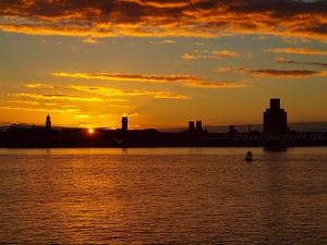 Mersey Sunset