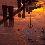 Beach Marker Reflection - Anna Nielsson