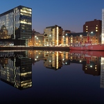 Canning Dock Reflections - Anna Nielsson