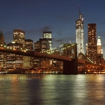 Brooklyn Bridge & Manhattan - Anna Nielsson